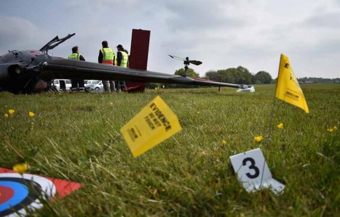 Accident aviatic - foto: AAIB