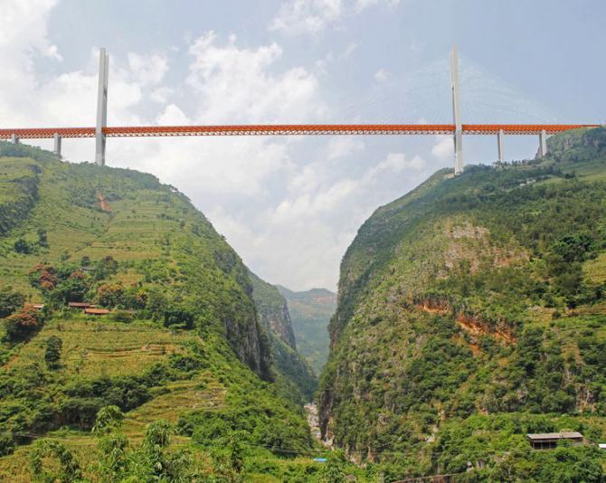 Beipanjiang, cel mai mare pod din lume