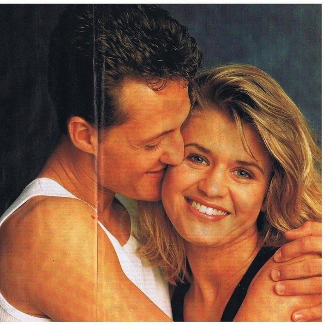 Michael și Corinna Schumacher