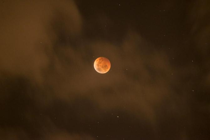 eclipsă totală de Lună 21 ianuarie 2019