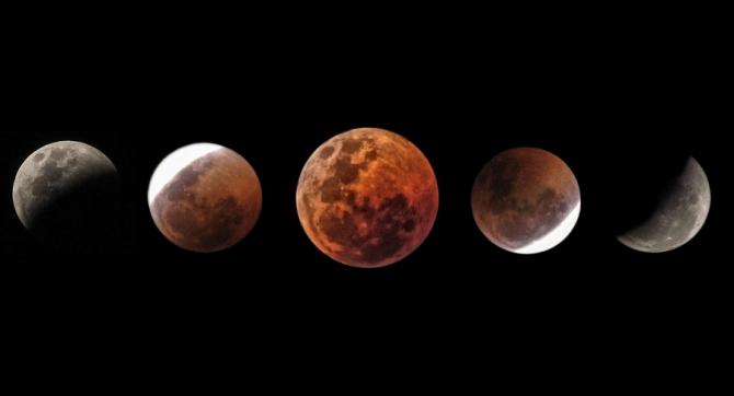 Eclipsă totală de Lună, ultima înainte de 2022, în ianuarie