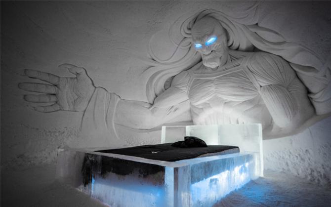 Hotel de gheață