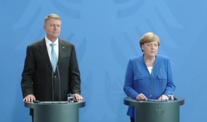 Klaus Iohannis, alături de liderii europeni