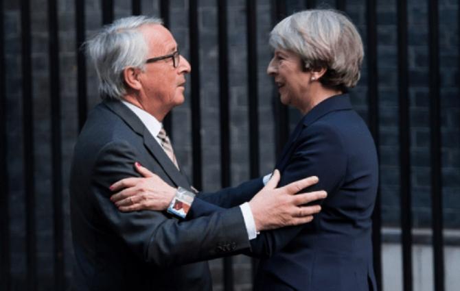 Juncker - May, discuție telefonică surprinzătoare