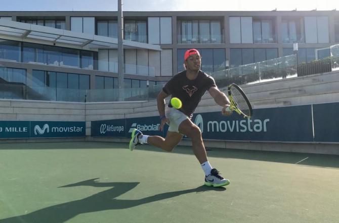 Rafa Nadal, probleme la turneul de la Brisbane