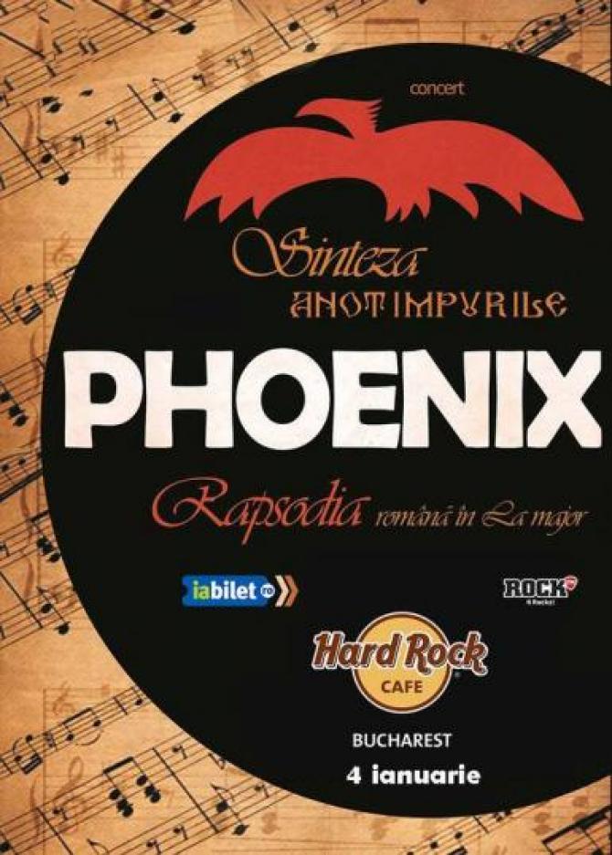 Phoenix – concert de înaltă ținută culturală