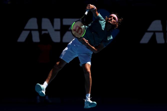 Stefanos Tsitsipas, Australian Open - foto: @AustralianOpen / facebook