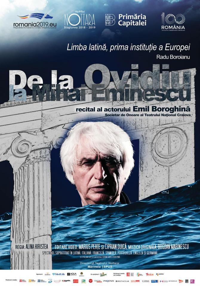 De la Ovidiu la Mihai Eminescu