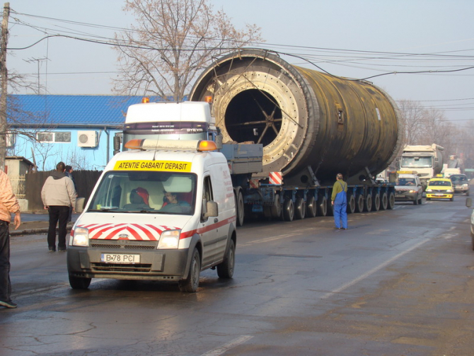 CNAIR anunț transport agabaritic. Foto: arhivă