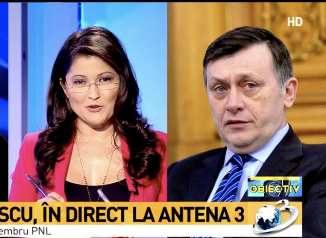 Oana Zamfir - Crin Antonescu