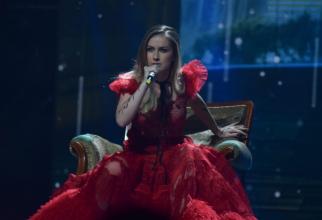 Ester Peony - Câștigătoarea Selecției Naționale Eurovision 2019. FOTO: Giorgiana Croitoru