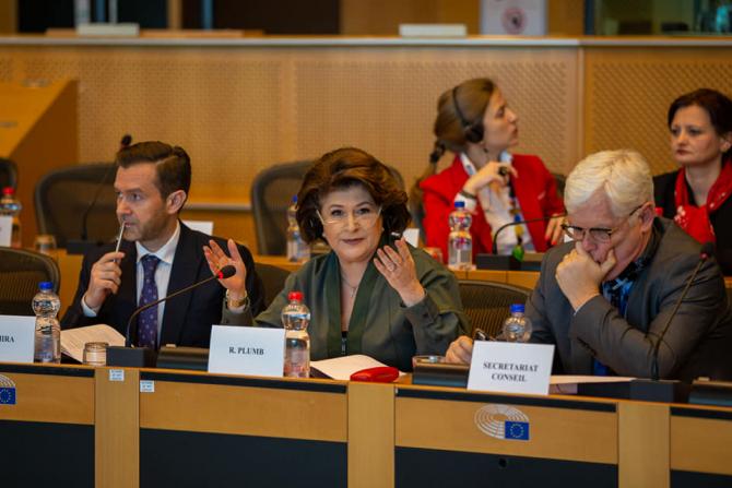 Rovana Plumb. Foto: Ministerul Fondurilor Europene România
