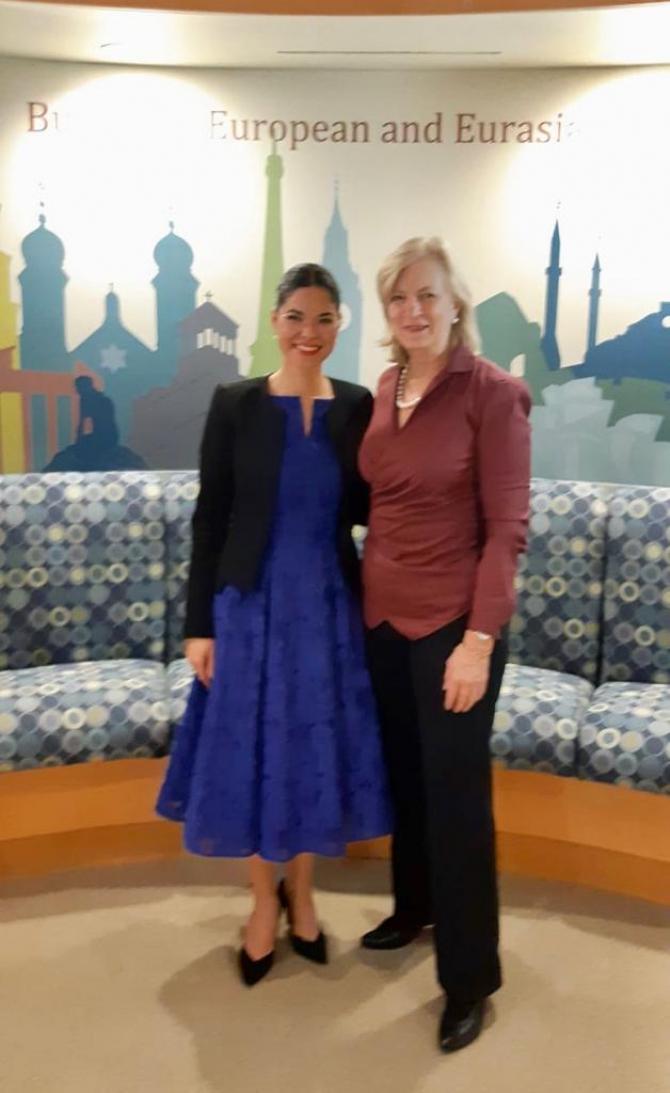 Ana Birchall, vizită oficială în SUA