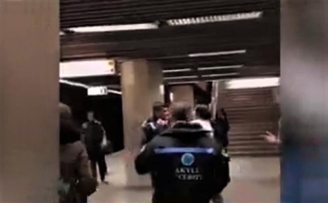 Bataie metrou. foto: captura video A3