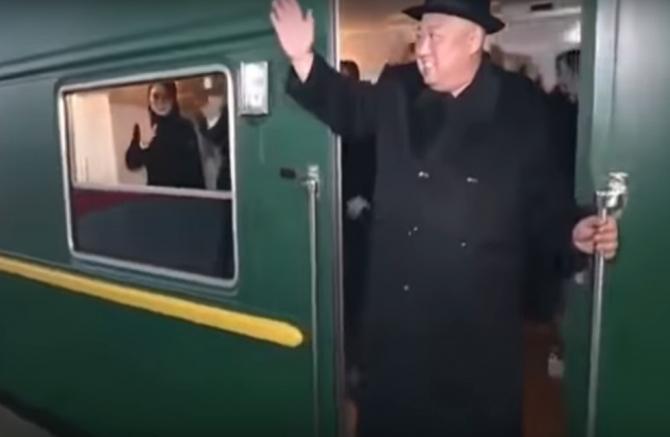 Trenul blindat, o variantă pentru a se deplasa la summit-ul de la Hanoi