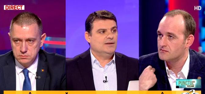 """Radu Tudor - Dan Vîlceanu, replici la Antena 3: """"Vă aduc eu aminte. Erați cu Dana Grecu"""""""