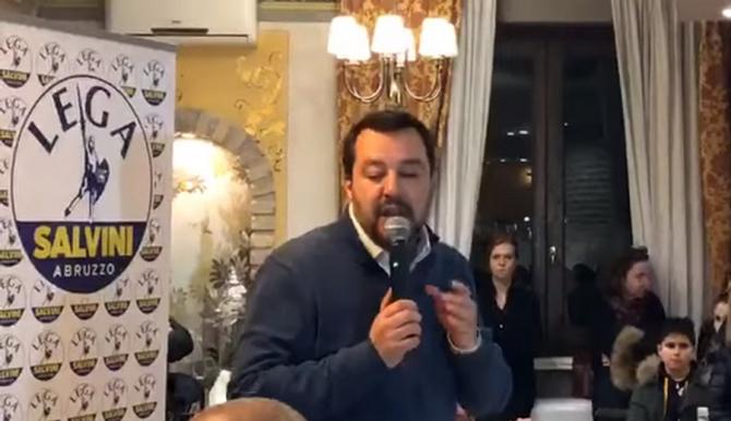"""Salvini, despre UE: """"Nu vrem să abandonăm"""""""
