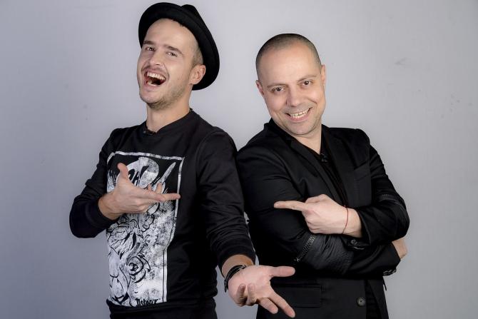 Șerban Copoț și Dan Badea