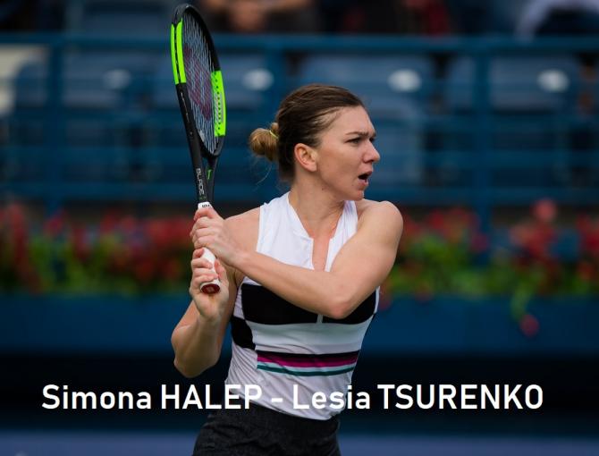 Dubai 2019 Simona HALEP - Lesia TSURENKO . Rezultat final