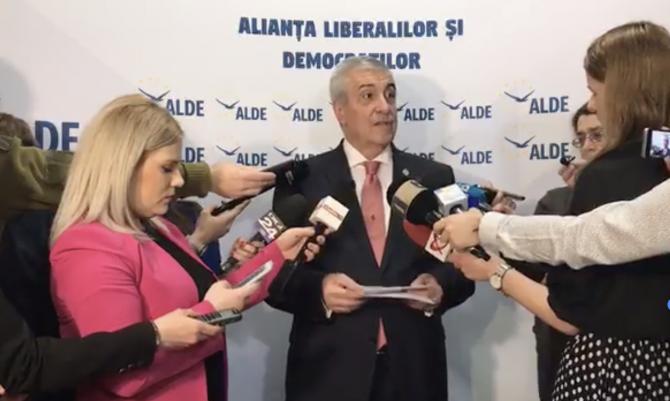 Calin Popescu Tariceanu, declaratii de presa