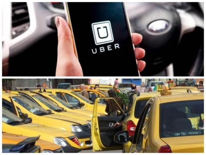 Sondaj: UBER sau Taxi? Rezultatul este edificator