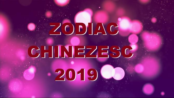 ZODIAC CHINEZESC - previziuni zodii - Anul Mistrețului de Pământ 2019