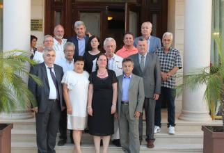 Revedere, după 29 de ani de la absolvirea faculltății, Călărași, 2018, alături de  PROFESORUL Alexandru Brad