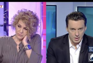 Carmen Avram - Mircea Badea la Antena 3