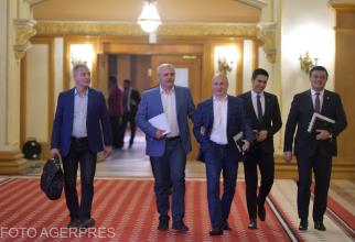Liderii PSD, sedinta