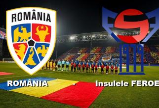 România - Feroe rezultat preliminarii Euro 2020