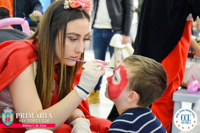 """Kids Club"""" este un proiect artistic, dedicat celor mici, ce se va desfășura în fiecare weekend, până pe 14 aprilie 2019"""