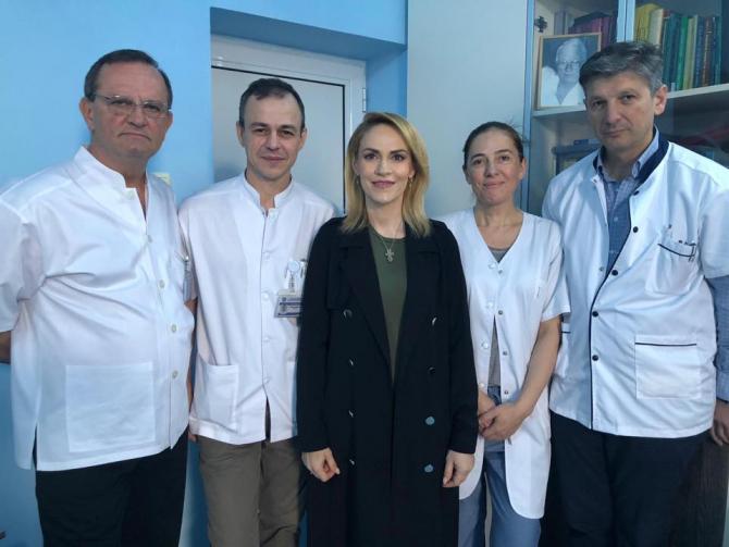 Gabriela Firea, externare din spital