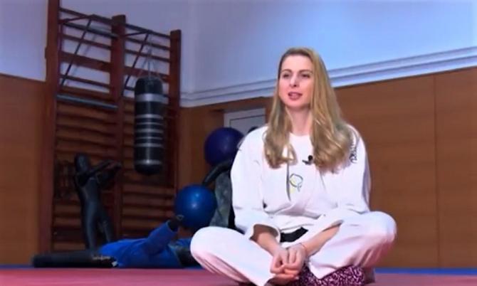 Alina Dumitru: Am fost avantajată în judo. Băieților le părea rău