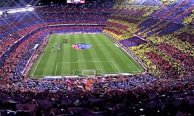 Liga Campionilor. BARCELONA - LYON Rezultat final, meci retur