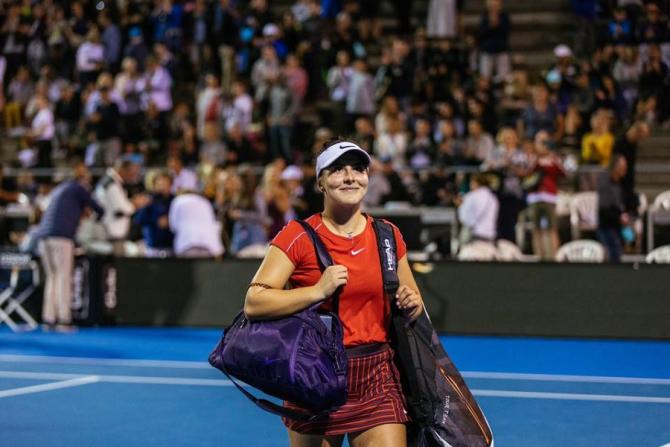 """Bianca Andreescu, lăudată de Simona Halep. """"Fenomenul canadian"""" impresionează la Indian Wells"""