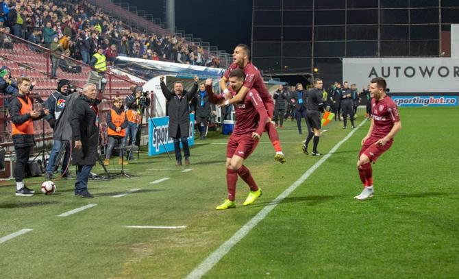 CFR Cluj, Dan Petrescu revine antrenor. foto: @cfr1907 / facebook