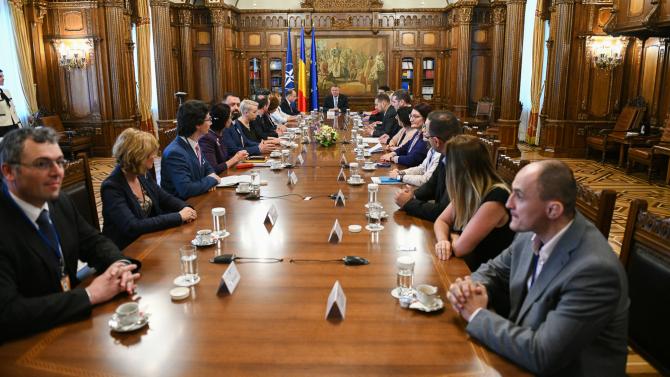 Magistrații, la consultări cu președintele Klaus Iohannis
