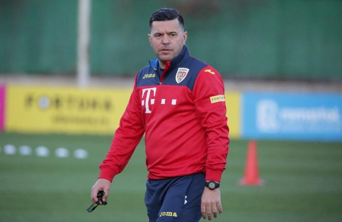 Cosmin Contra, antrenorul echipei nationale a Romaniei