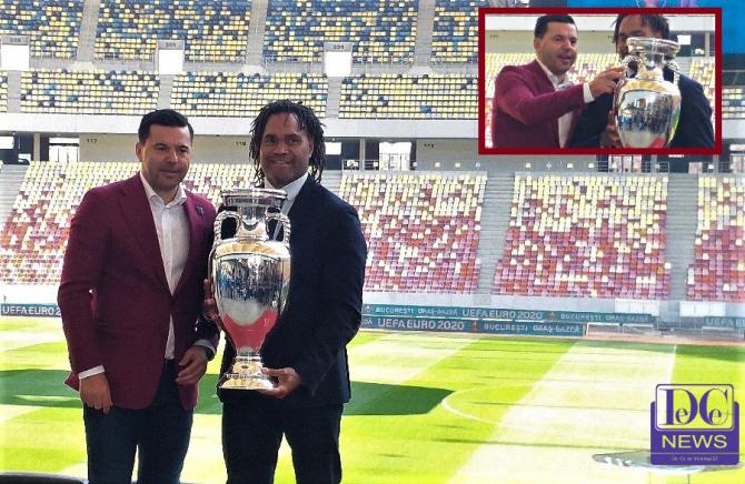 "Trofeu EURO 2020: Cosmin Contra a pus mâna! ""Just for luck"""