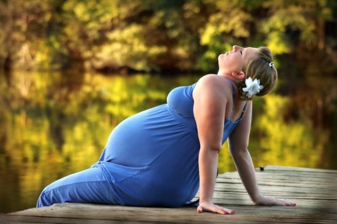 O gravidă nu are voie să fie sedentară sau să se îngrașe prea mult dacă vrea să fie sănătoși și ea și copilul
