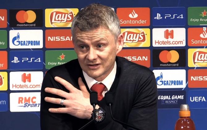 """Solskjaer, antrenor Man United, vorbește despre """"o moarte sigură"""". Declarație după victoria cu PSG"""