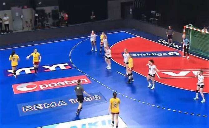 Turneul Golden League: România - Danemarca, scor final