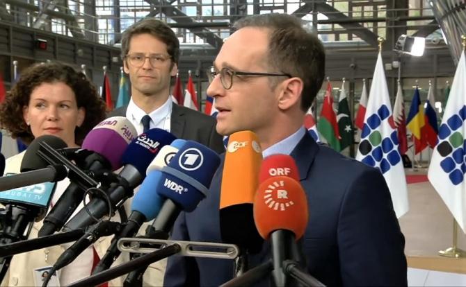 Ministrul de externe al Germaniei, Heiko Maas, a salutat apelul preşedintelui francez, Emmanuel Macron