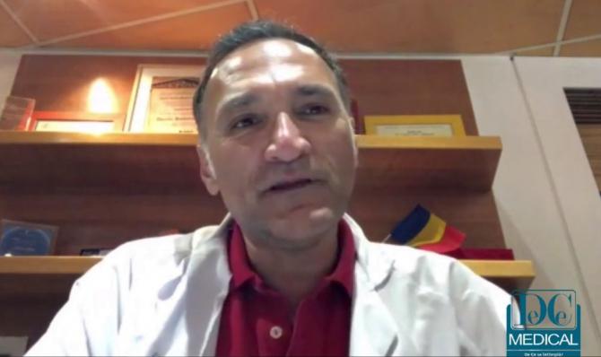 Prof.dr. Horatiu Roman la Academia de Sănătate