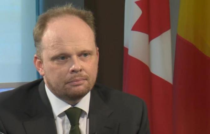 Kevin Hamilton, ambasadorul Canadei în România