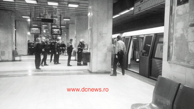 metrou sinucidere