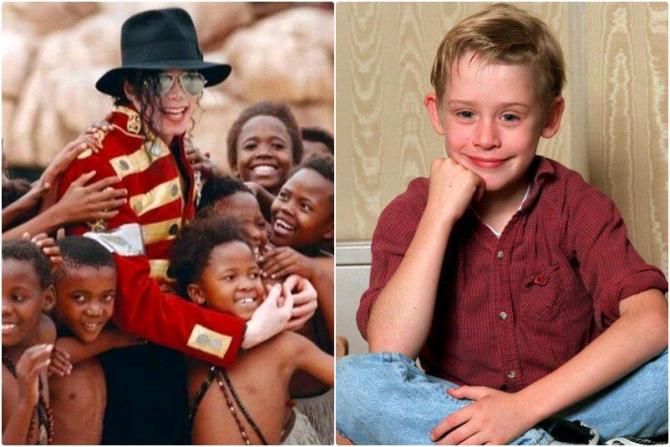 Surse foto: Facebook Michael Jackson / Macaulay Culkin