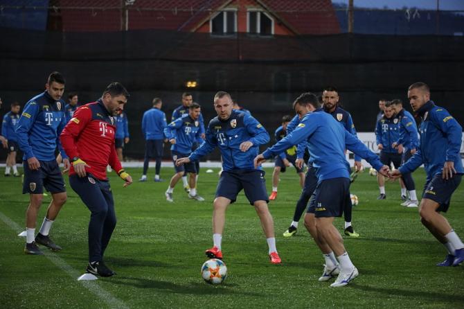 România - Feroe   Schimbări sigure în echipa de start. Contra a confirmat. foto: FRF