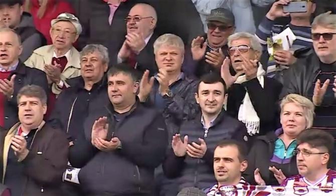 Rapid - FCSB II, derby pentru Liga a 2-a. Victorie sub privirea lui Mircea Lucescu