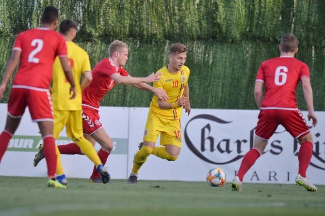 România U21 - Danemarca U20 rezultat final în meci amical